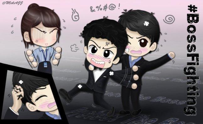 JaeJoong, Yoochun và Min Jee ~