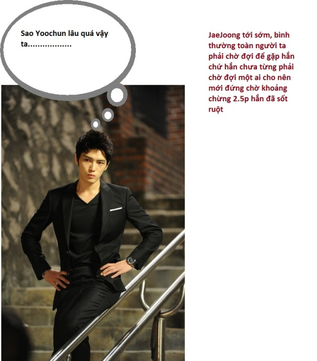 Kim JaeJoong the boss