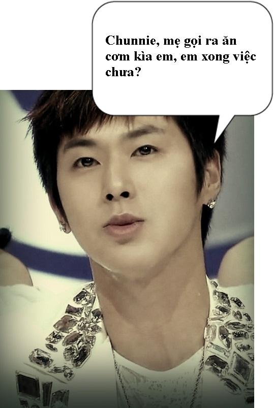 Jung Yunho cute